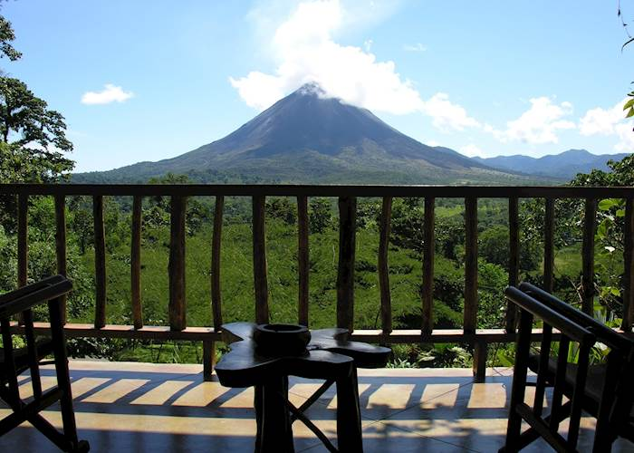 View from a luxury suite, The Lost Iguana Resort