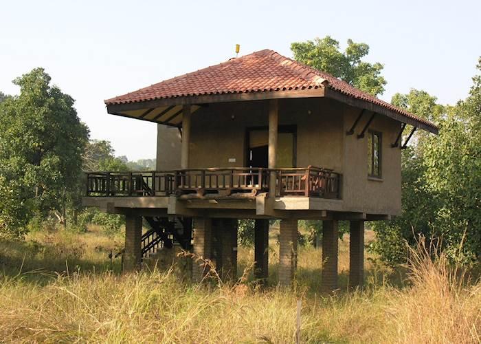 Stilt Room, Kings Lodge, Bandhavgarh National Park