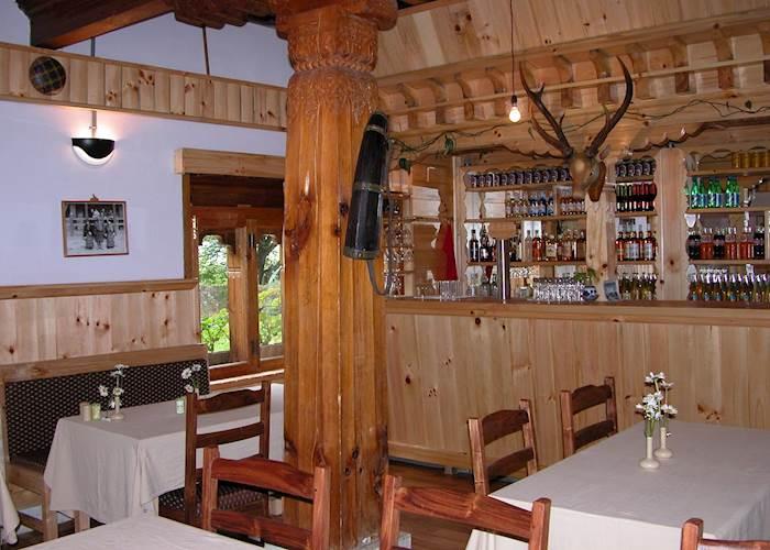 Restaurant and bar, Swiss Guest House, Jakar