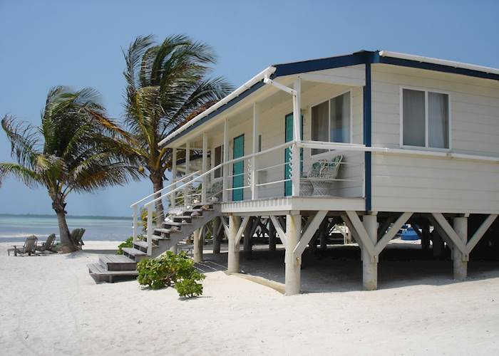 Beach Cabana, Turneffe Flats