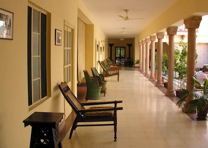 Seating area, Ratan Vilas, Jodhpur