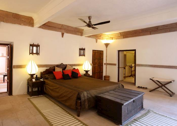 Bedroom at The Ranvas, Nagaur