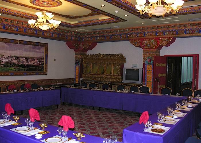 Tsetang Hotel restaurant, Tsetang