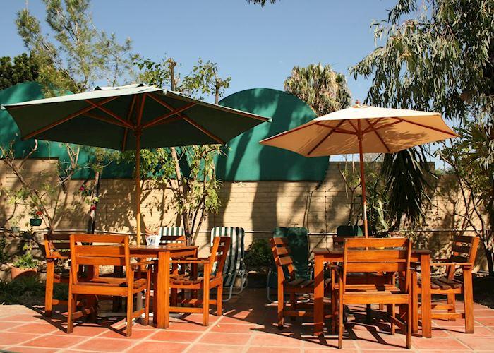 Deck area,Haus Sonneneck,Windhoek