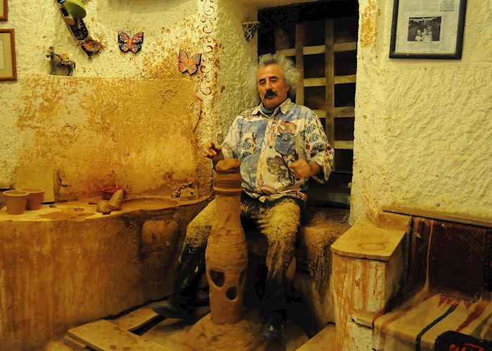 Chez Galip pottery workshop