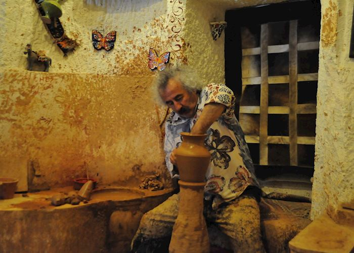 Chez Galip pottery workshop