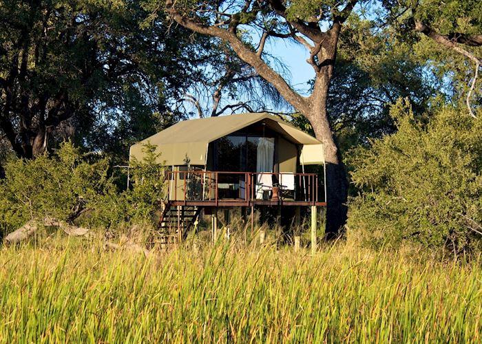 Guest Tent,Nkasa Lupala Tented Lodge