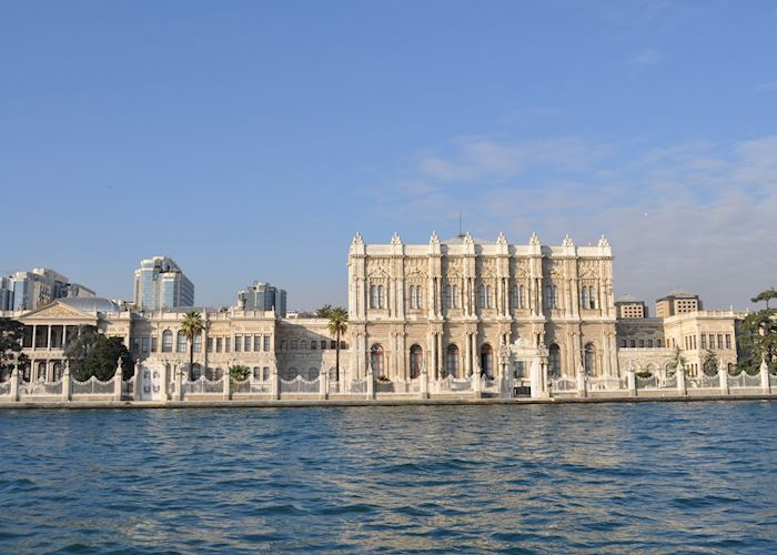 Dolmabahce Palace seen from the Bosphorus, Istanbul