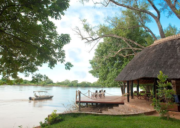View of the river, Nkwali Safari Camp, South Luangwa National Park