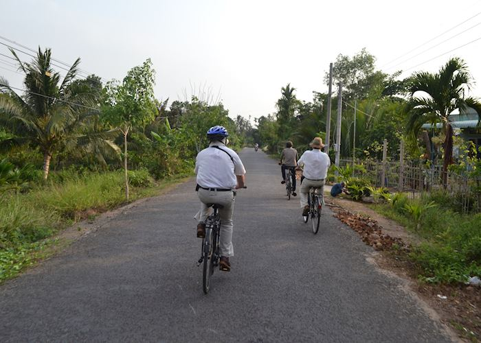Tour of the Mekong Delta by bike, Can Tho