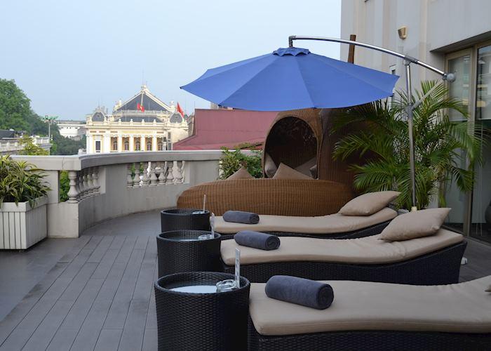 Pool Terrace, Hotel de l'Opera, Hanoi