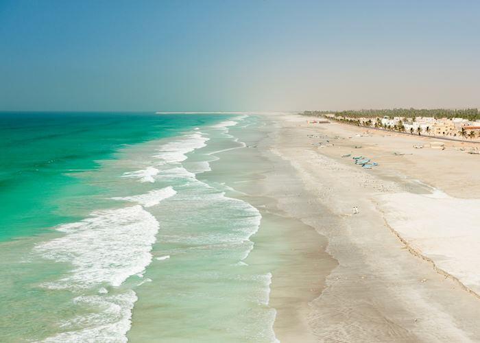 Salalah coastline