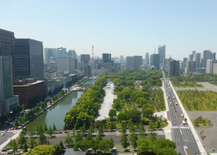 View from the Palace Hotel Tokyo