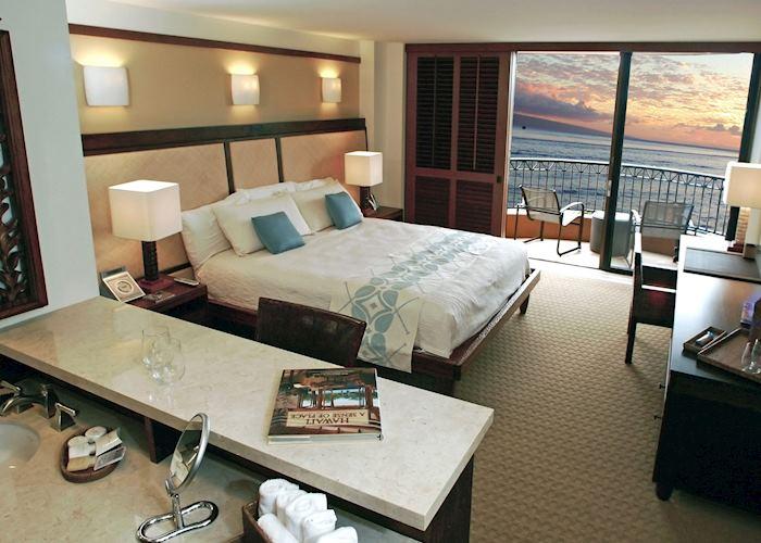 Deluxe ocean view room, Royal Lahaina Resort, Maui