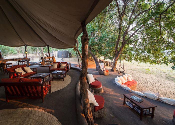 Lounge and bar area at Tena Tena