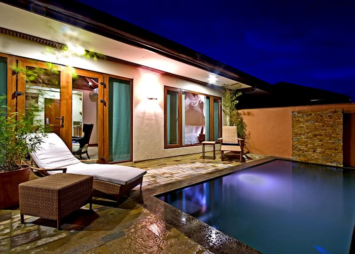 Villa Plunge Pool, Crimson Beach Resort & Spa, Cebu