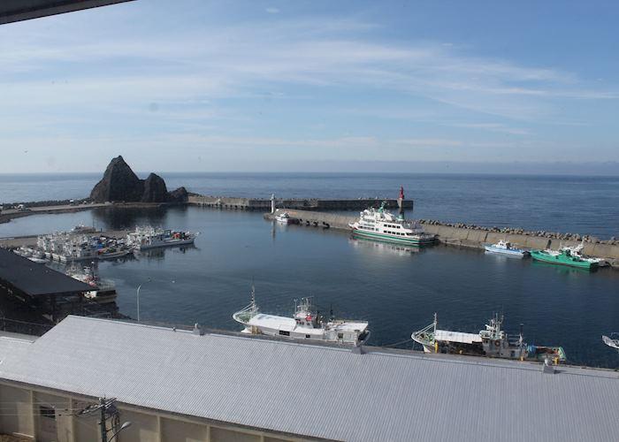 Utoro harbour