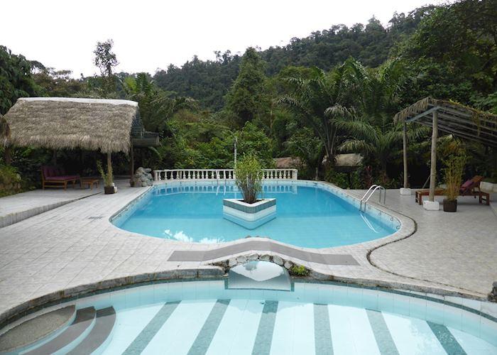 Pool at Septimo Paraiso