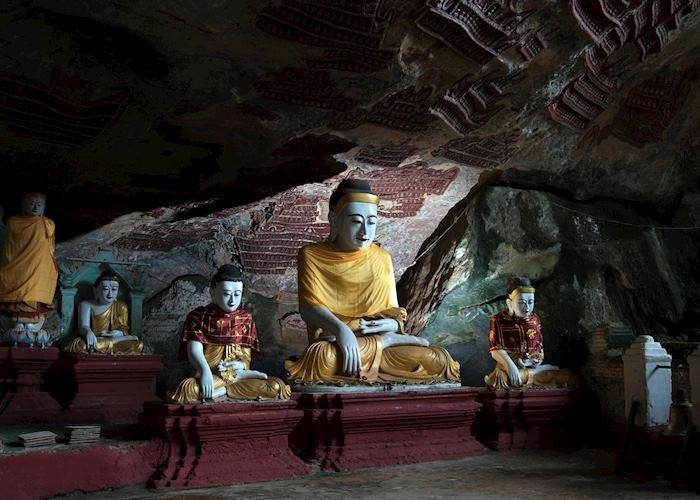 Kawgun Caves, Hpa An, Burma (Myanmar)