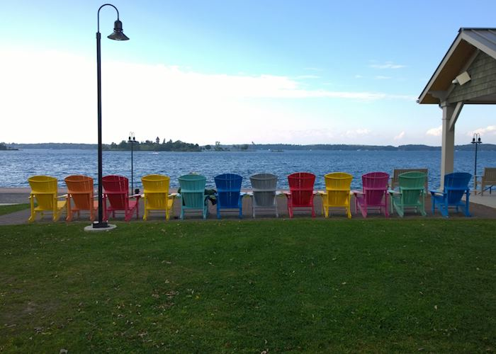 Relaxation at the St. Lawrence River