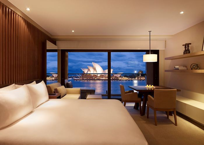 Opera room at the Park Hyatt Hotel, Sydney