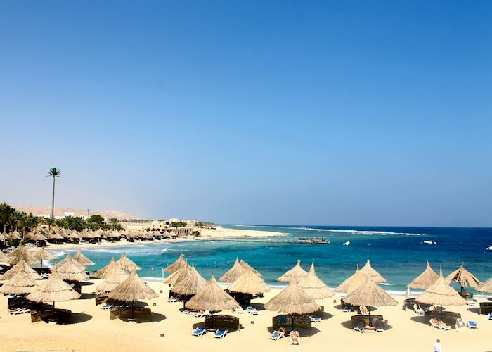 Beach at the Movenpick Resort El Quseir