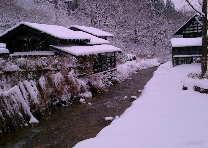 Tsurunoyu in winter