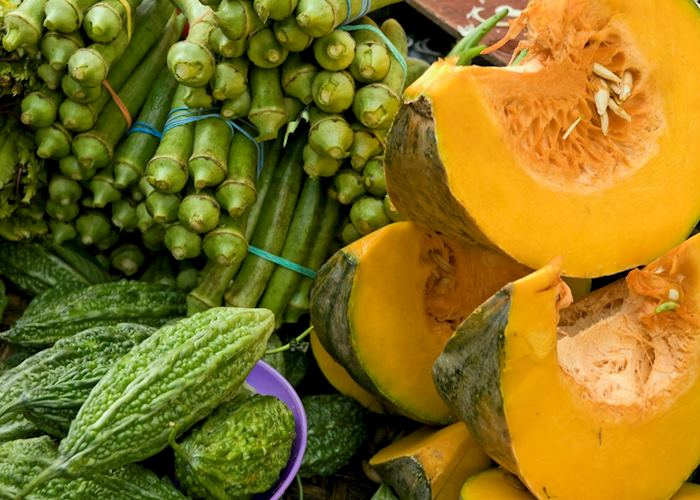 Vegetable market, Manila