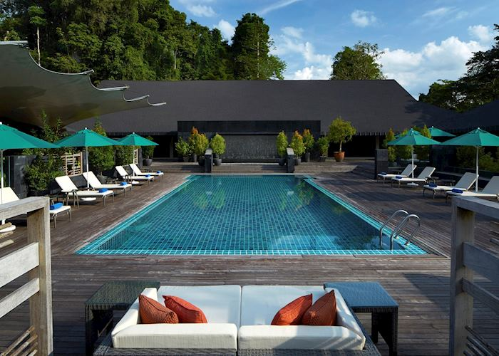Pool at the Mulu Marriott