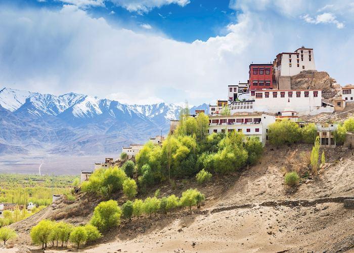 Thiksey Monastery in Leh, Ladakh