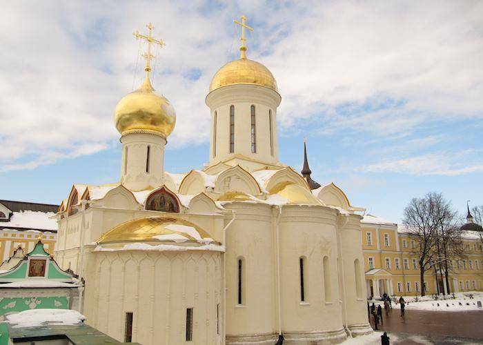 Inside the Trinity Lavra of St. Sergius