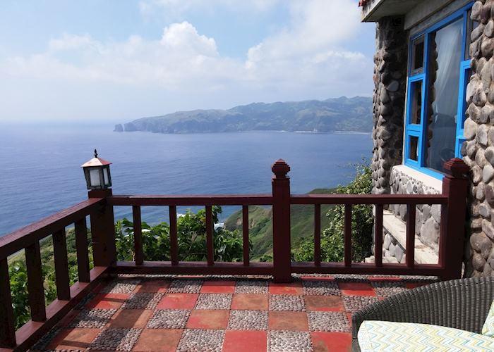 View from private balcony, Fundacion Pacita Nature Lodge