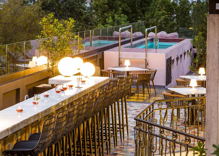 Rooftop Bar and Pool at Luciano K