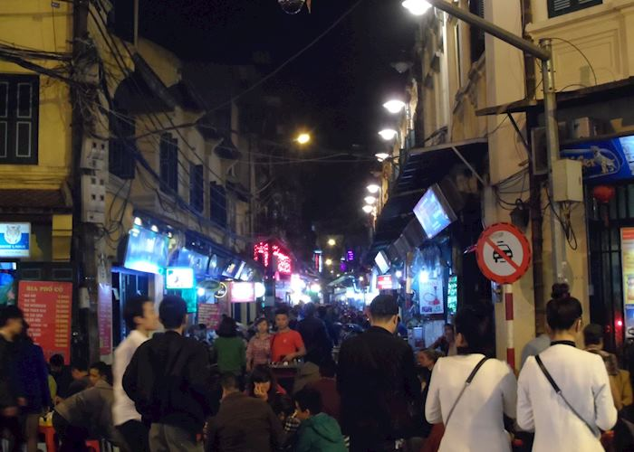 Hanoi street food tour, Hanoi