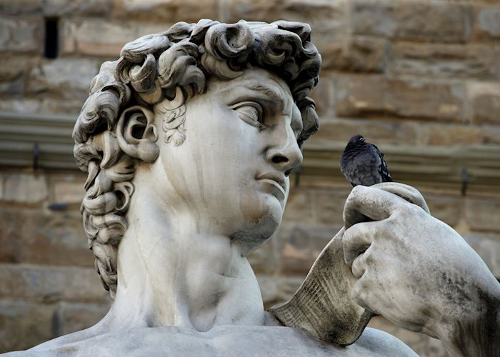 Replica of Michelangelo's 'David', Florence