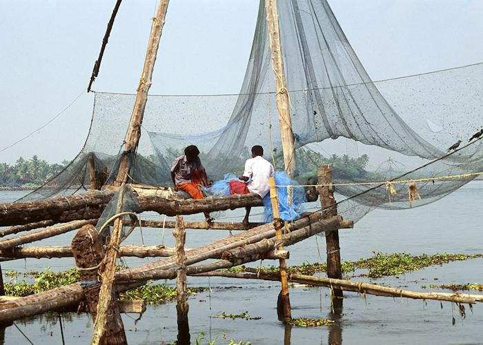 Traditional fishing nets, Cochin
