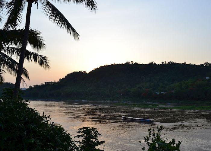 Mekong River at Sunset, Luang Prabang