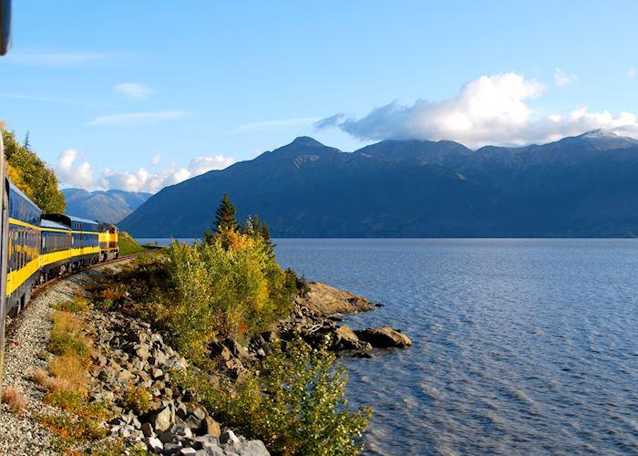 Alaska train, Anchorage