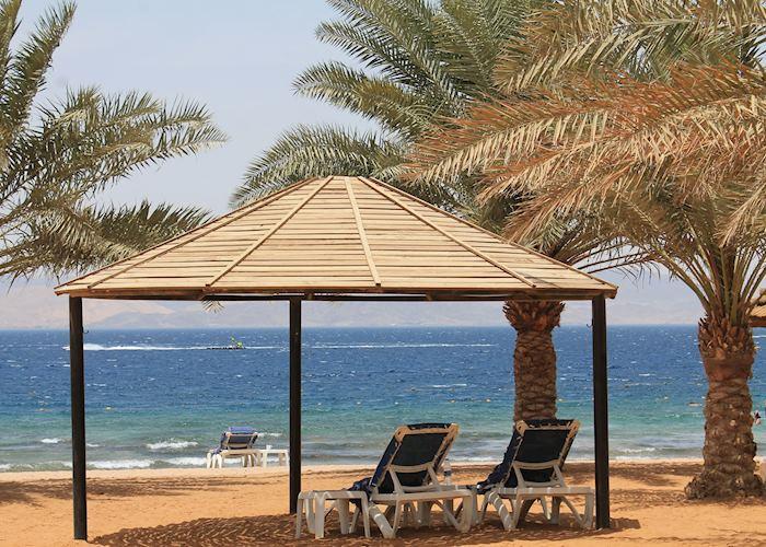 Movenpick beach side cabana