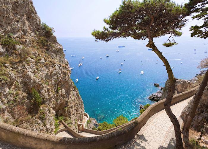 Sea view, Capri