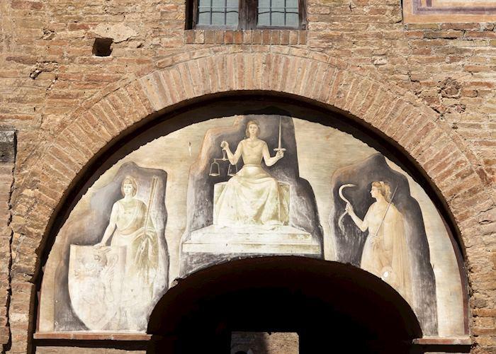 Themis Divine Justice, San Gimignano, Tuscany