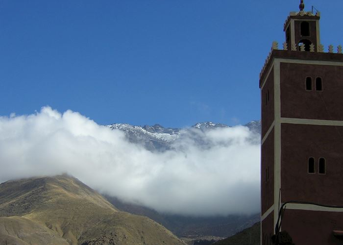 The High Atlas Mountains, Morocco