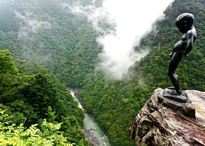 Statue of Peeing Boy, Iya Valley