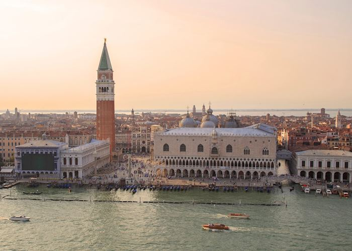 Veiw of St Mark's and the Doge's Palace, Venice