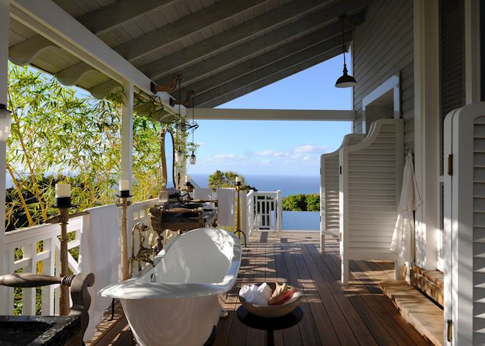 One Bedroom Guesthouse with Pool, Belle Mont Farm, Saint Kitts
