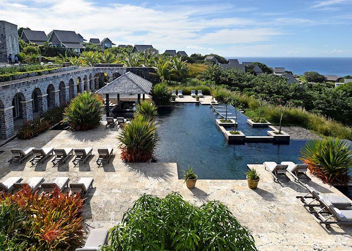 Pool, Belle Mont Farm, Saint Kitts