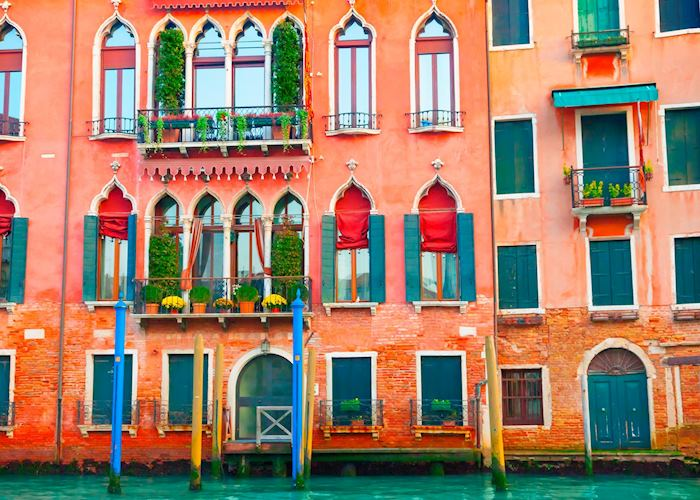 Buildings on the Grand Canal, Venice