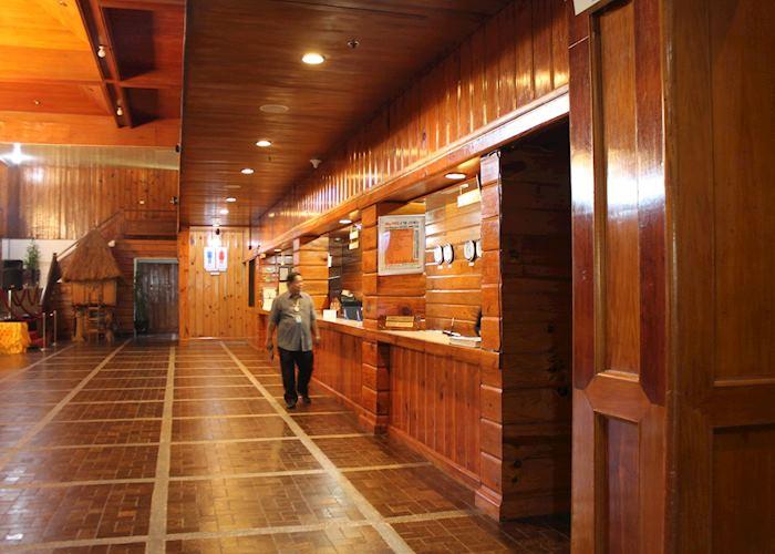 Banaue Hotel lobby