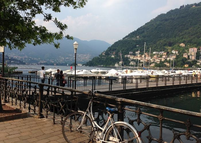 Como harbour, Lake Como