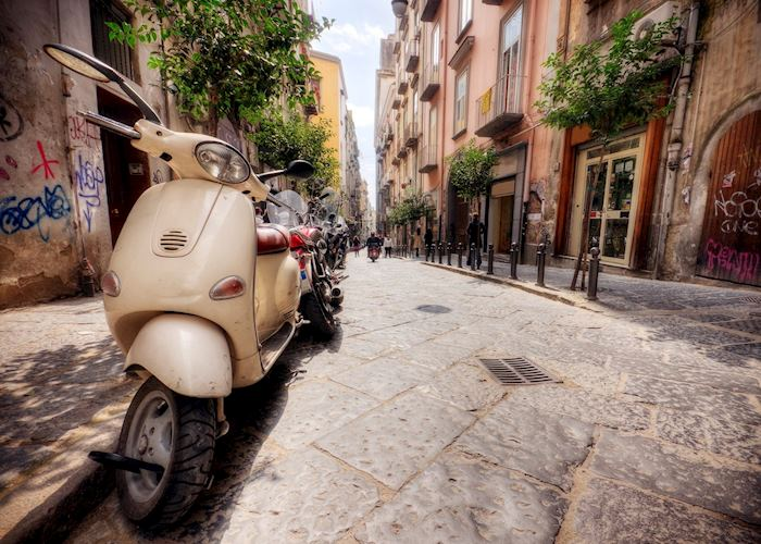 Street scene, Naples